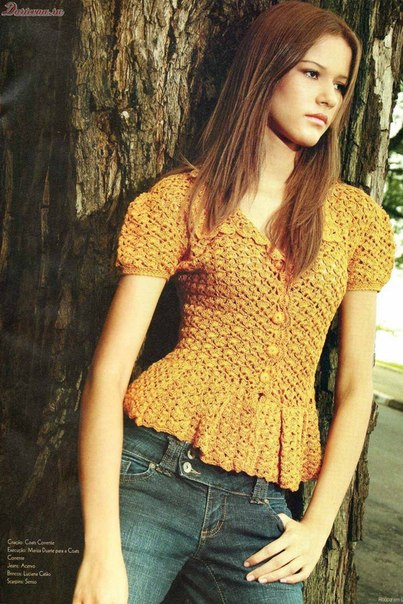 blusa naranja-amarilla-patron crochet-otakulandia.es (7)