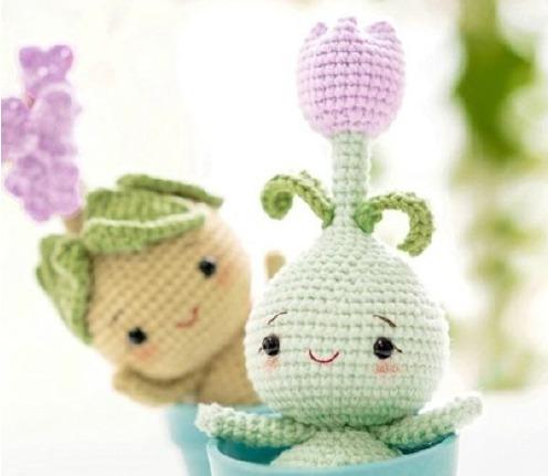 bulbos flor crochet-amigurumis-otakulandia.es (1)