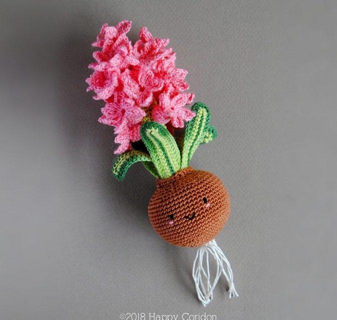 bulbos flor crochet-amigurumis-otakulandia.es