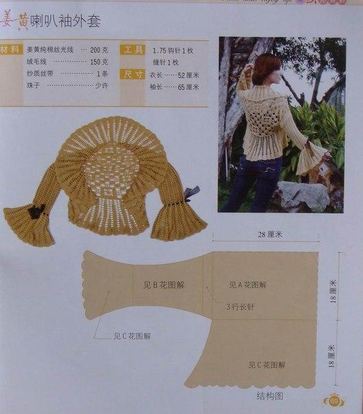 chaqueta verano crochet-patron-esquema-otakulandia.es (21)