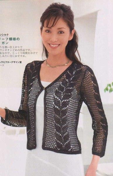 chaqueta verano crochet-patron-esquema-otakulandia.es (6)