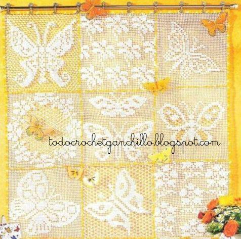 cortina mariposas crochet-esquemas-otakulandia.es (1)