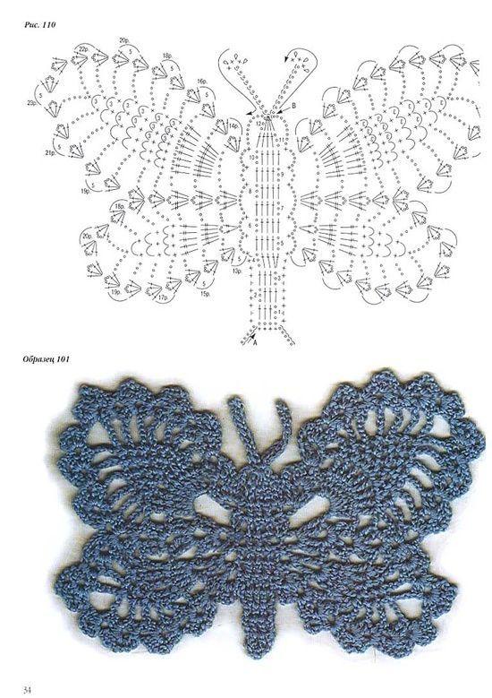 esquema aplique mariposa crochet-otakulandia.es (2)