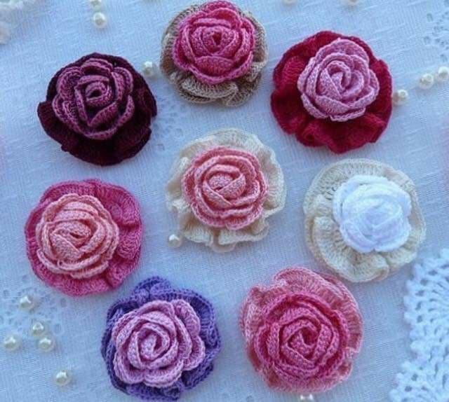 flores apliques crochet-otakulandia.e (1)