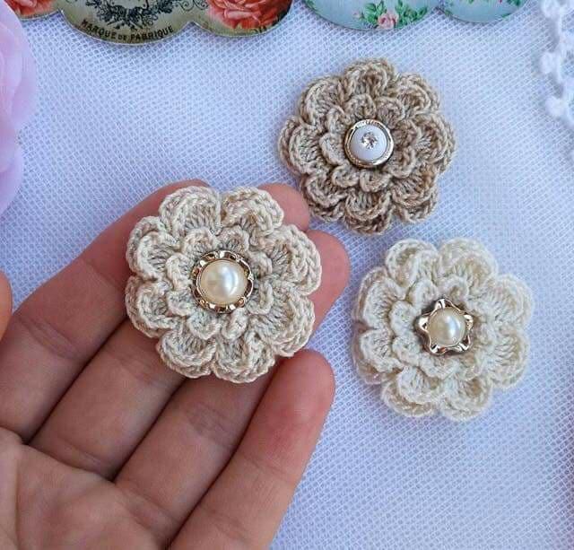 flores apliques crochet-otakulandia.e (11)