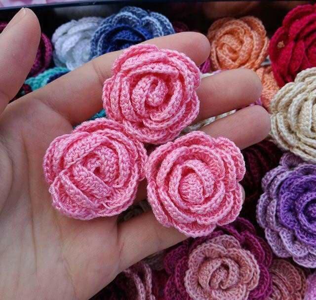 flores apliques crochet-otakulandia.e (12)