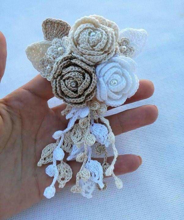 flores apliques crochet-otakulandia.e (13)