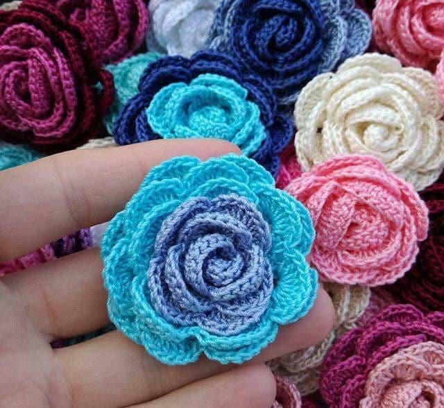 flores apliques crochet-otakulandia.e (14)