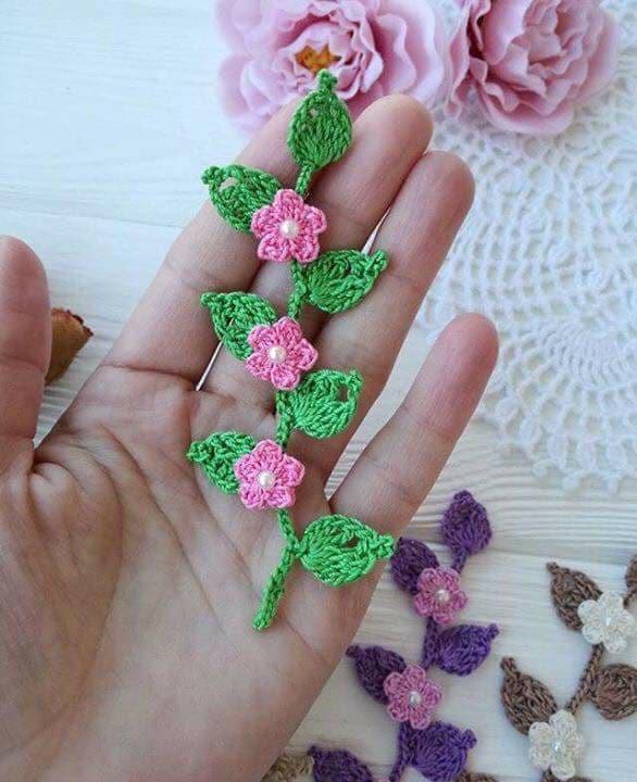 flores apliques crochet-otakulandia.e (15)