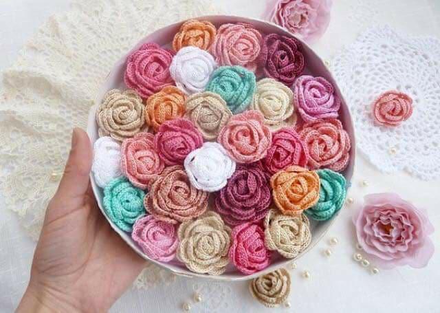 flores apliques crochet-otakulandia.e (16)