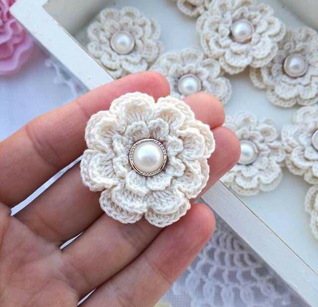 flores apliques crochet-otakulandia.e (20)