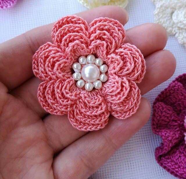 flores apliques crochet-otakulandia.e (23)