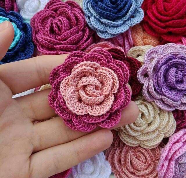 flores apliques crochet-otakulandia.e (27)