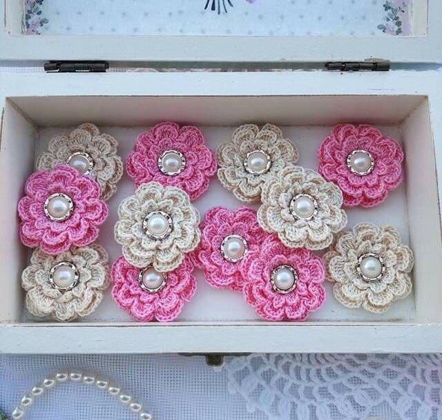 flores apliques crochet-otakulandia.e (6)