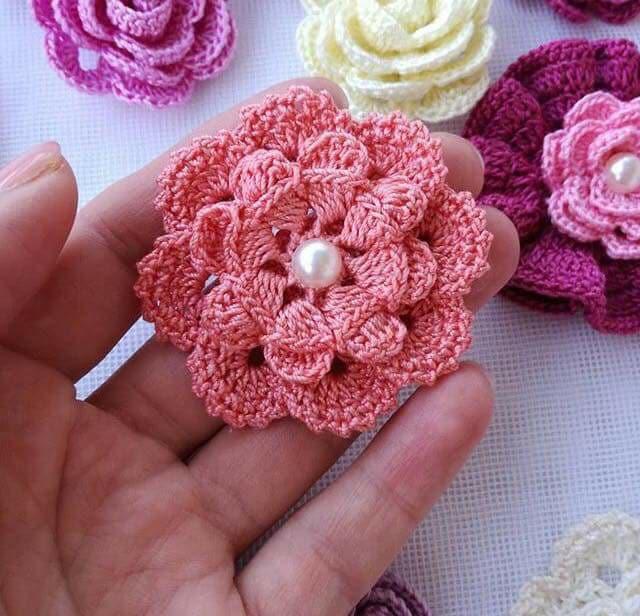flores apliques crochet-otakulandia.es (2)