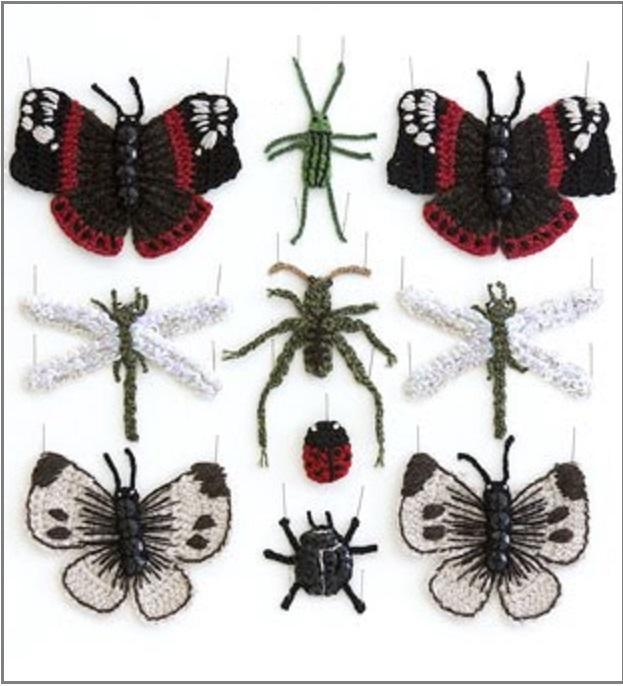 insectos crochet-otakulandia.es
