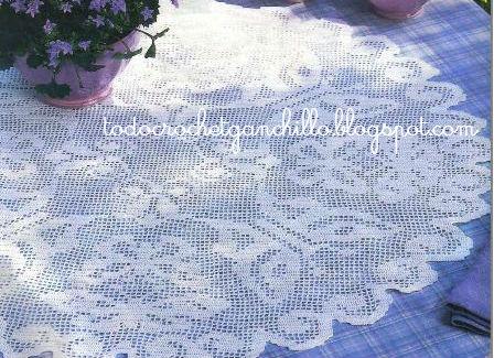 mantel mariposas crochet-esquema-otakulandia.es