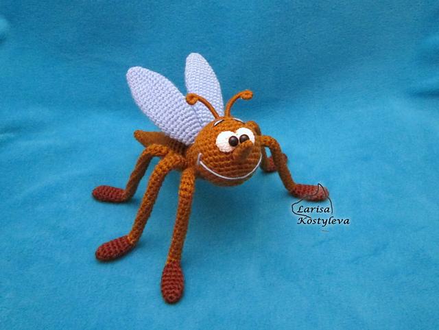 mosquito amigurumi-otakulandia.es (1)