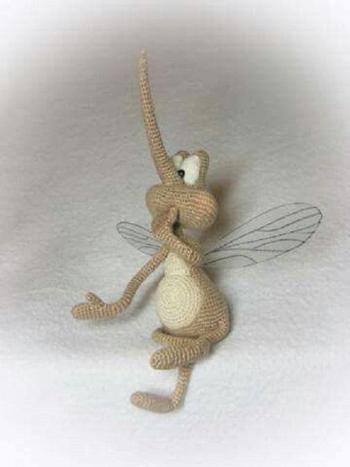 mosquito amigurumi-otakulandia.es (2)