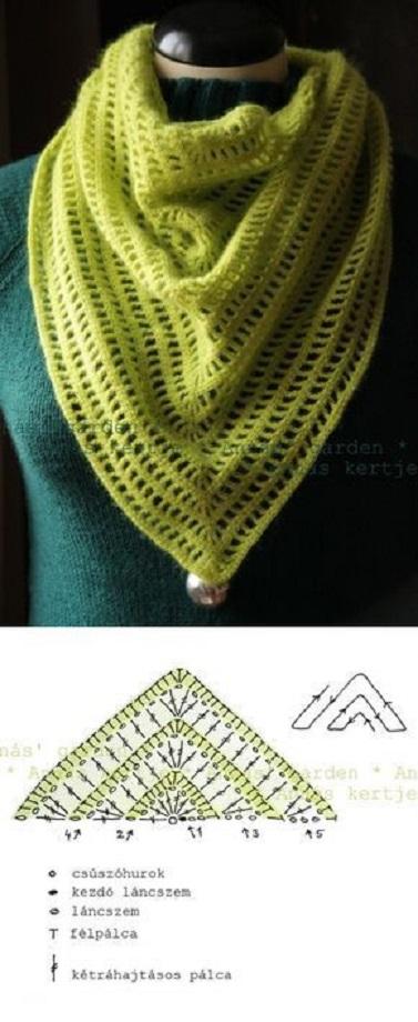 panuelo pico crochet-otakulandia.es (1)