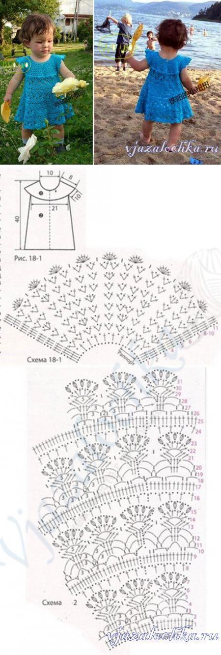 vestido naranja-crochet-nina-otakulandia.es (6)