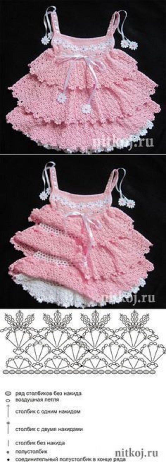vestido naranja-crochet-nina-otakulandia.es (7)