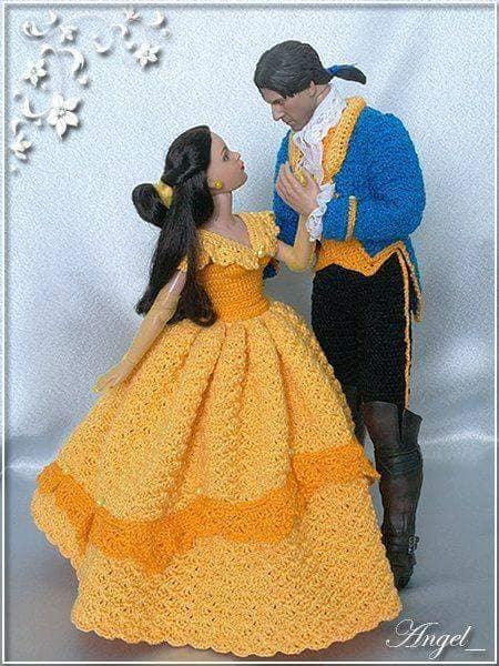 barby vestidos crochet-otakulandia.es (1)