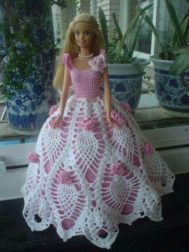 barby vestidos crochet-otakulandia.es (16)