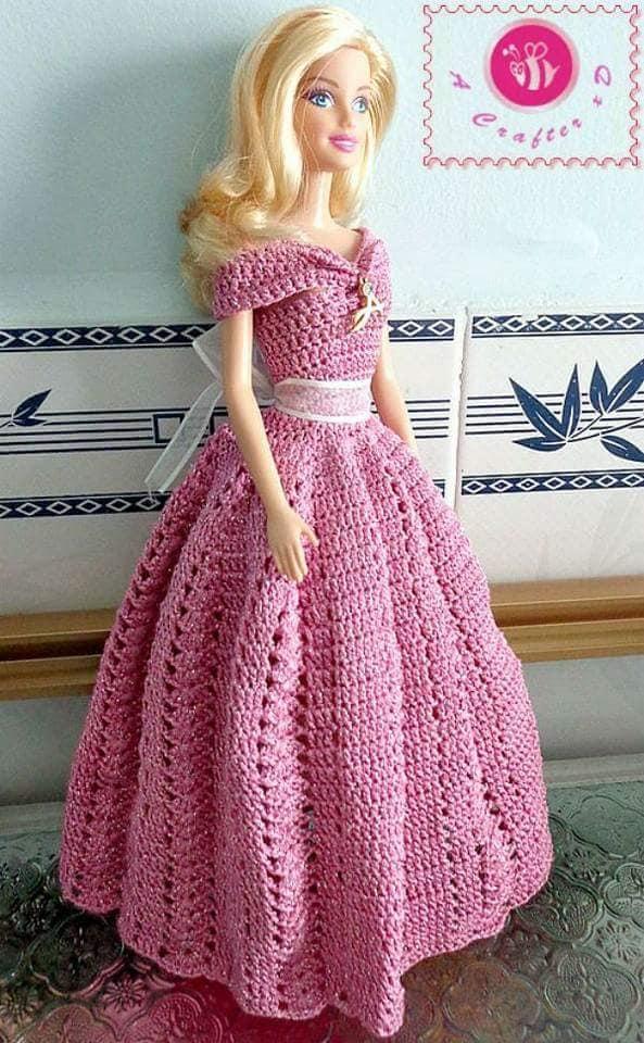 barby vestidos crochet-otakulandia.es (17)