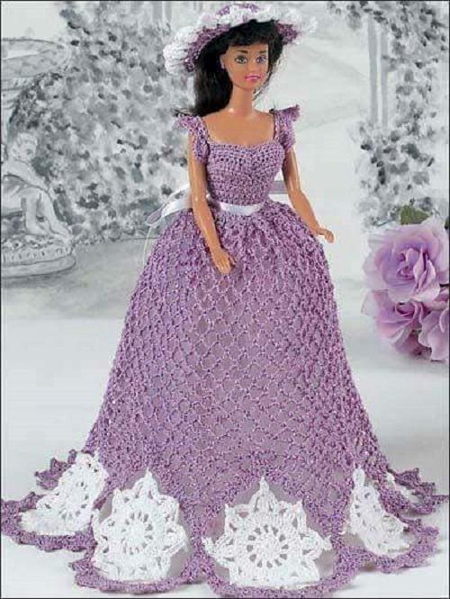 barby vestidos crochet-otakulandia.es (4)