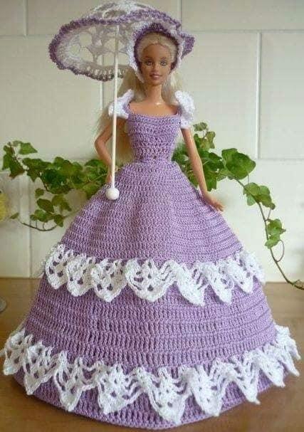 barby vestidos crochet-otakulandia.es (8)