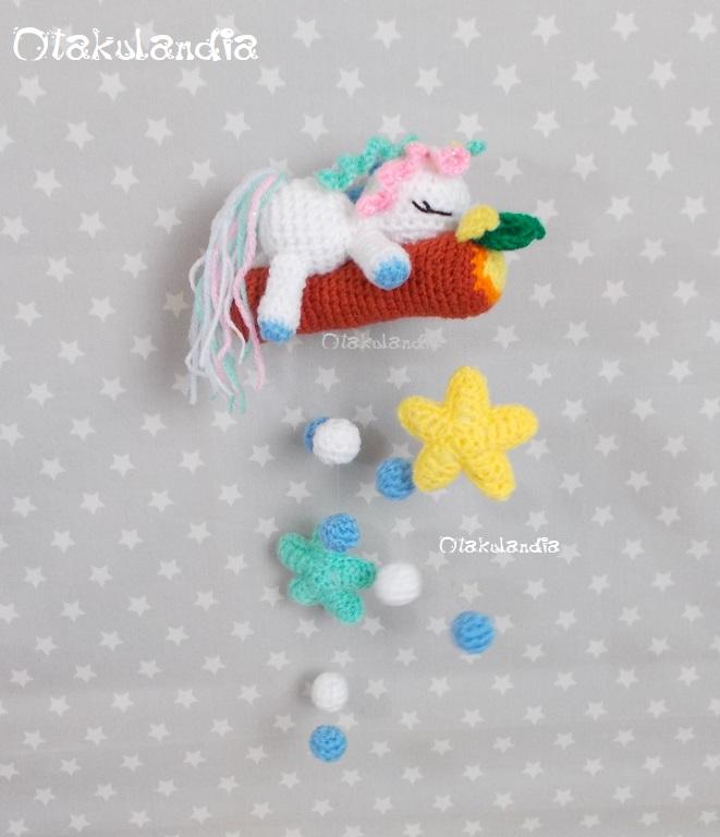 bebe unicornio-movil cuna-crochet-otakulandia.shop (4)
