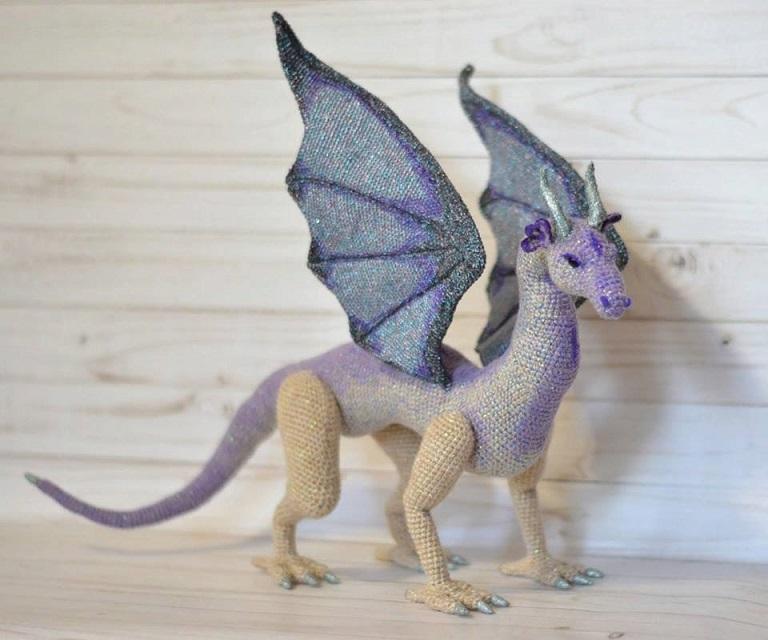 dragon realista crochet-otakulandia.es (1)