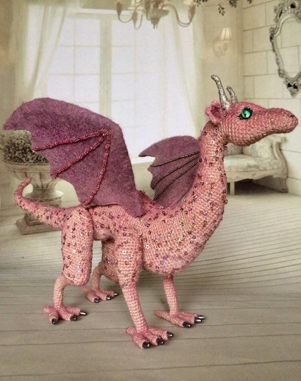 dragon realista crochet-otakulandia.es (2)