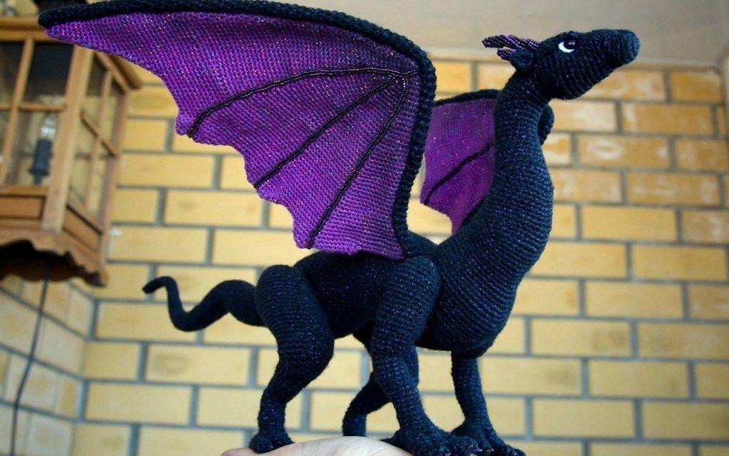 dragon realista crochet-otakulandia.es (3)