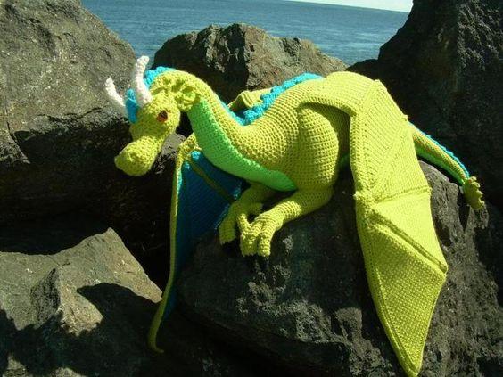dragon realista crochet-otakulandia.es (6)