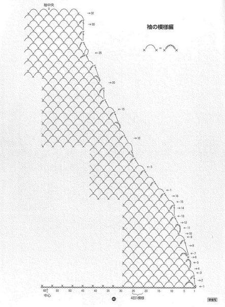 preciosa blusa calada crochet-esquema-otakulandia.es (12)