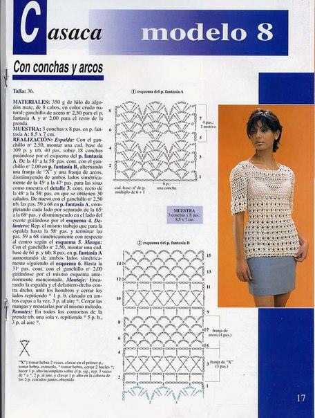 preciosa blusa calada crochet-esquema-otakulandia.es (17)