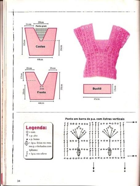 preciosa blusa calada crochet-esquema-otakulandia.es (18)