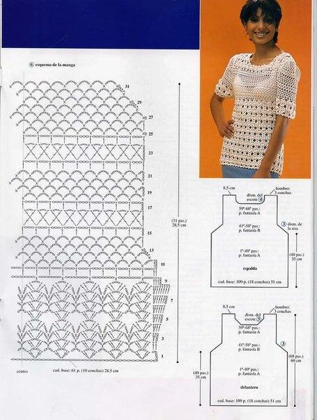 preciosa blusa calada crochet-esquema-otakulandia.es (19)