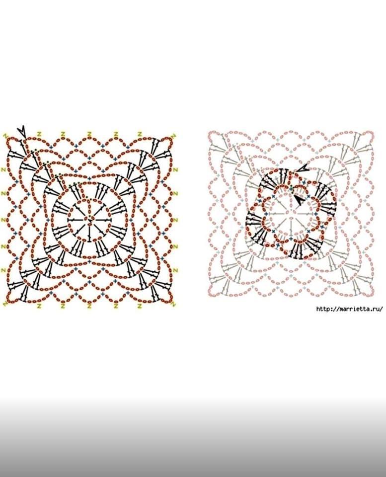 preciosa blusa calada crochet-esquema-otakulandia.es (5)