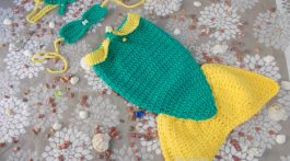 sirena esmeralda-disfraz bebe crochet-otakulandia.shop (1)