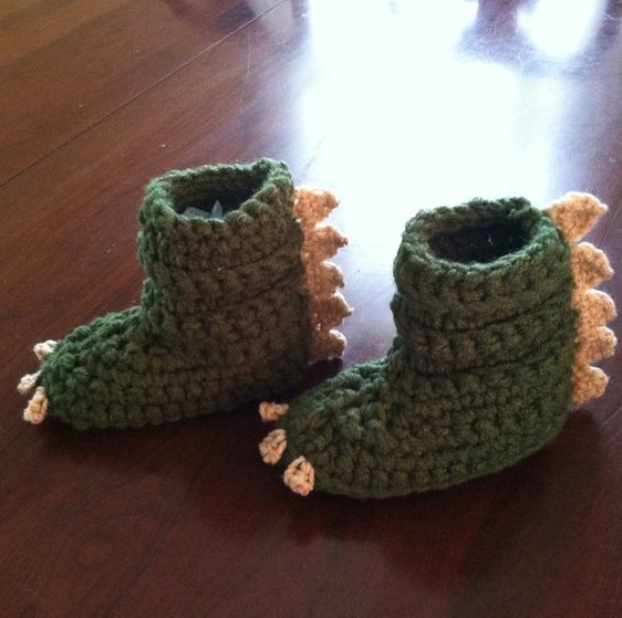 botitas bebe crochet-otakulandia.es