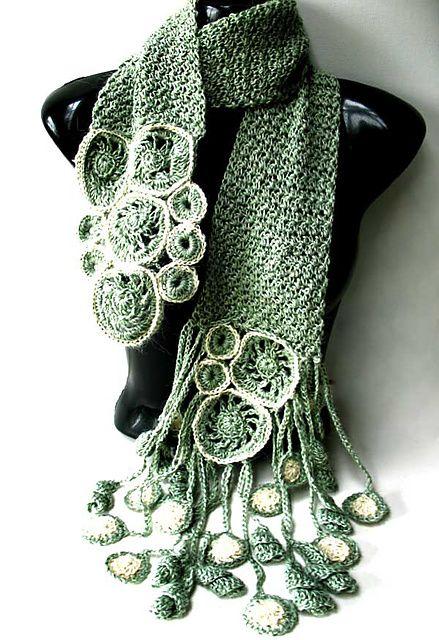 bufanda romantica crochet-otakuandia.es (3)