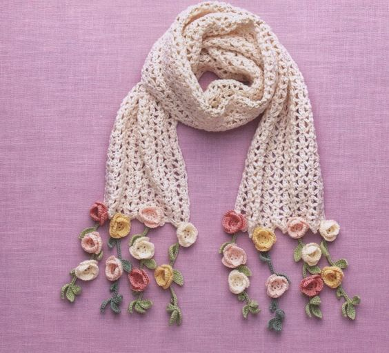 bufanda romantica crochet-otakuandia.es (5)