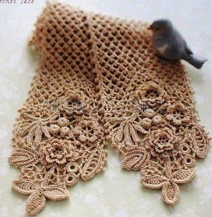 bufanda romantica crochet-otakuandia.es (6)