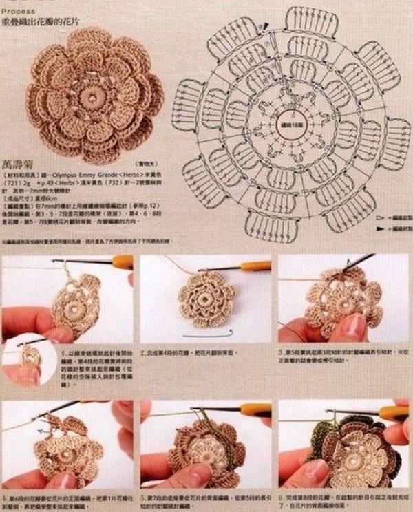 bufanda romantica crochet-patron-graficos-otakuandia.es (4)