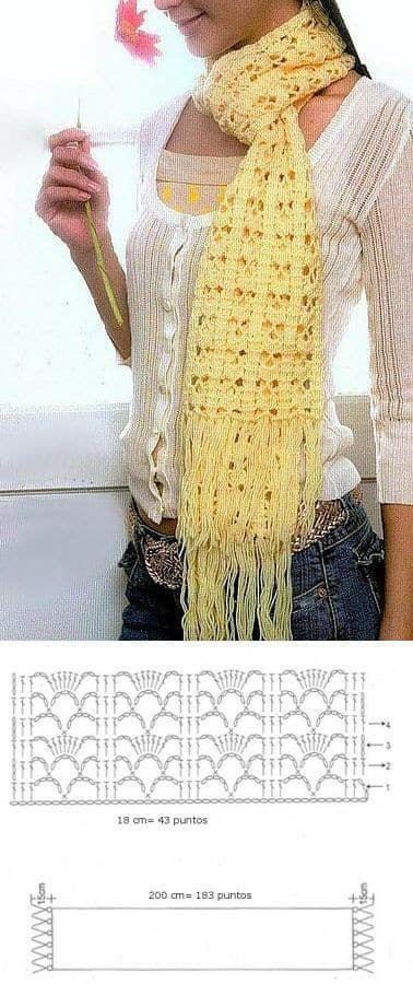 bufanda sencilla crochet-esquema-otakulandia.es (2)