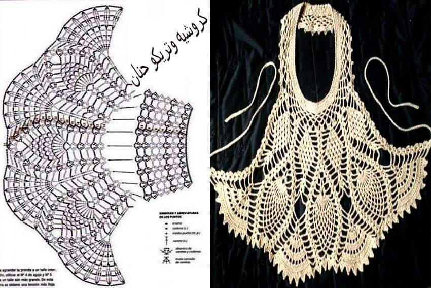 camiseta babero calada crochet-paso paso-otakulandia.es (3)