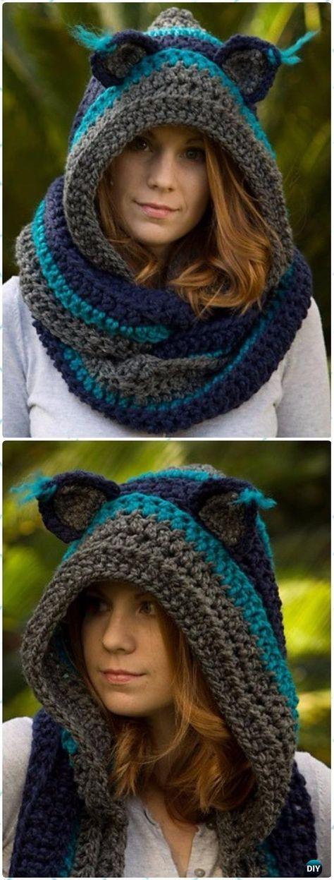 capucha lobo cuello-crochet-otakulandia.es (1)